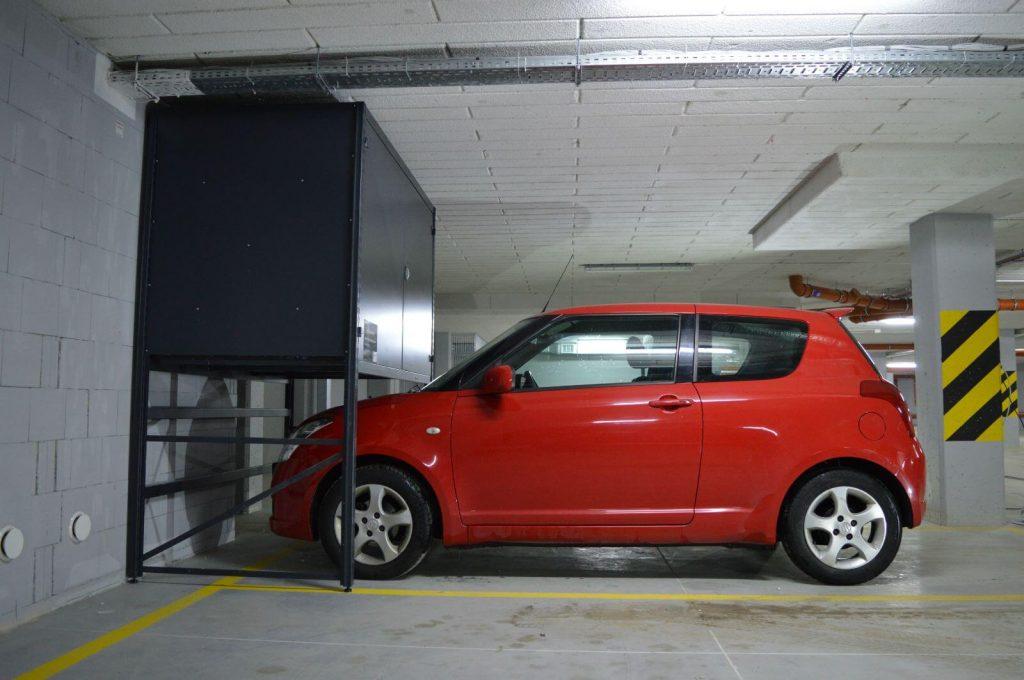 Szafa metalowa do garażu