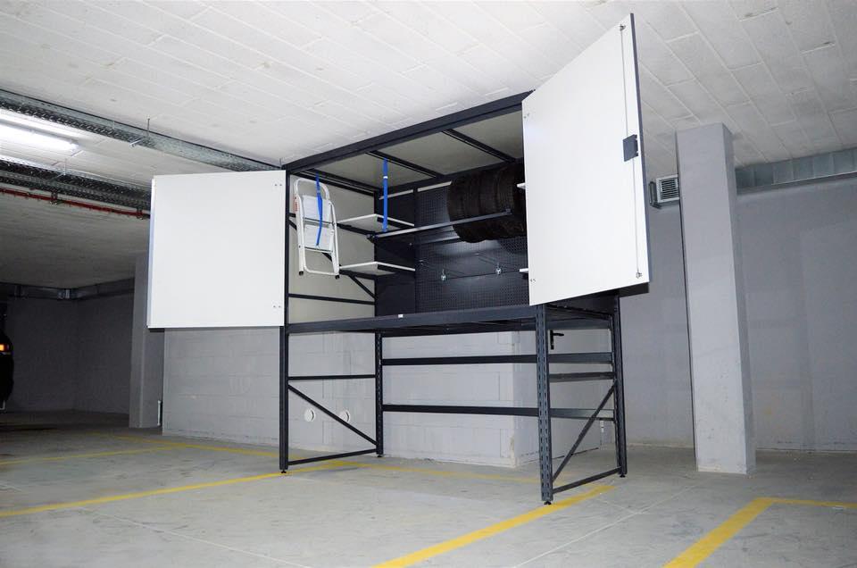 Szafa do garażu podziemnego